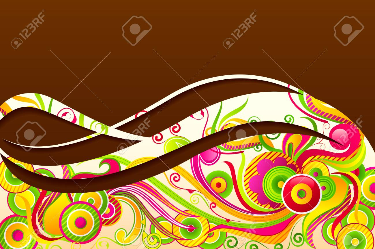 Floral Decoration Stock Vector - 19658961