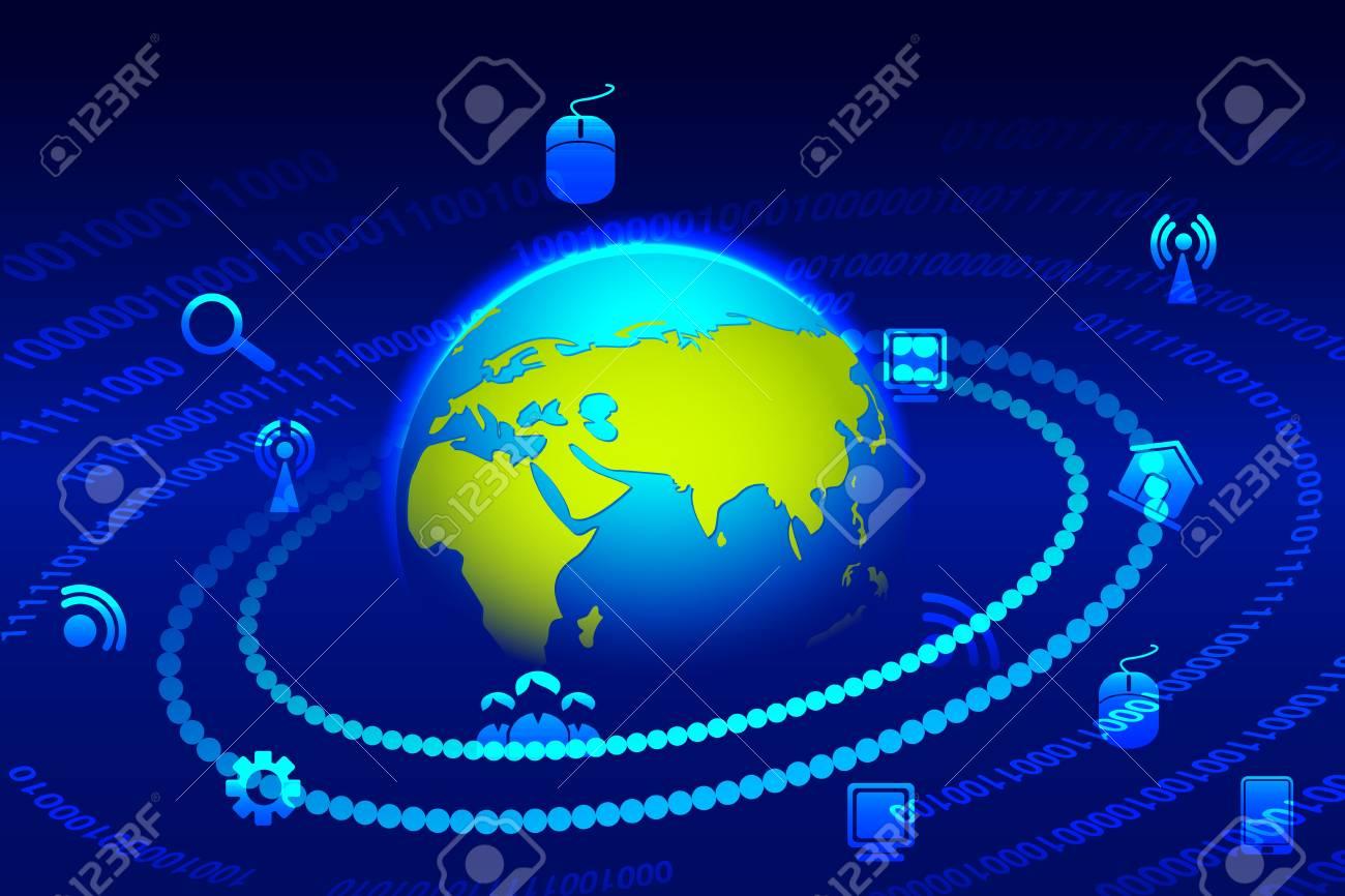 Global Technology Stock Photo - 20916122