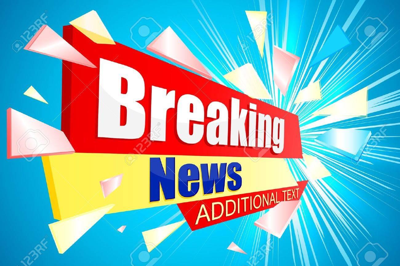 Breaking News Stock Photo - 21086305