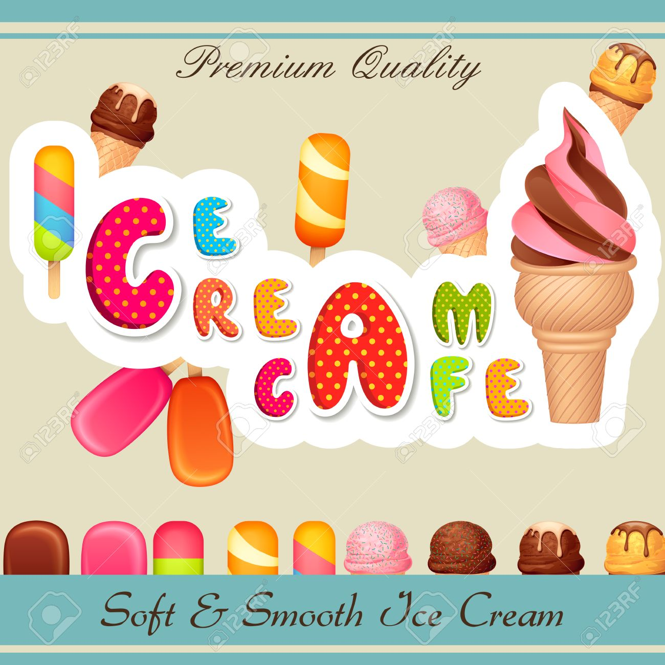 1,671 Icecream Shop Stock Illustrations, Cliparts And Royalty Free ...