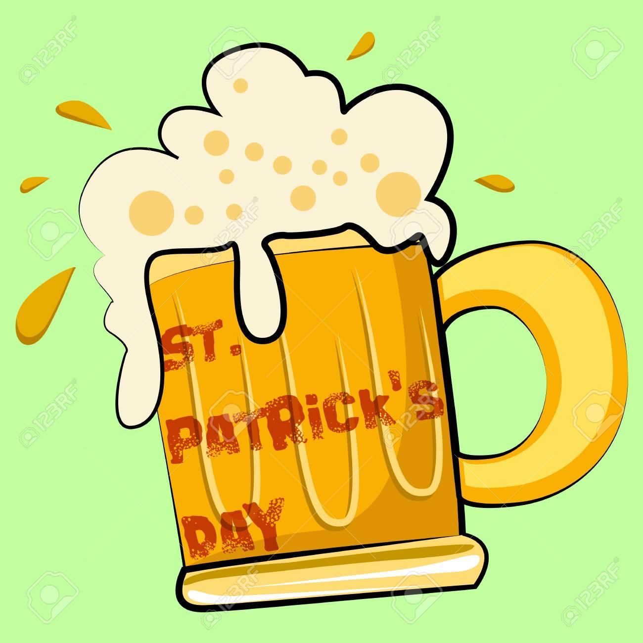 vector illustration of Saint Patrick's Day design Stock Vector - 26566161
