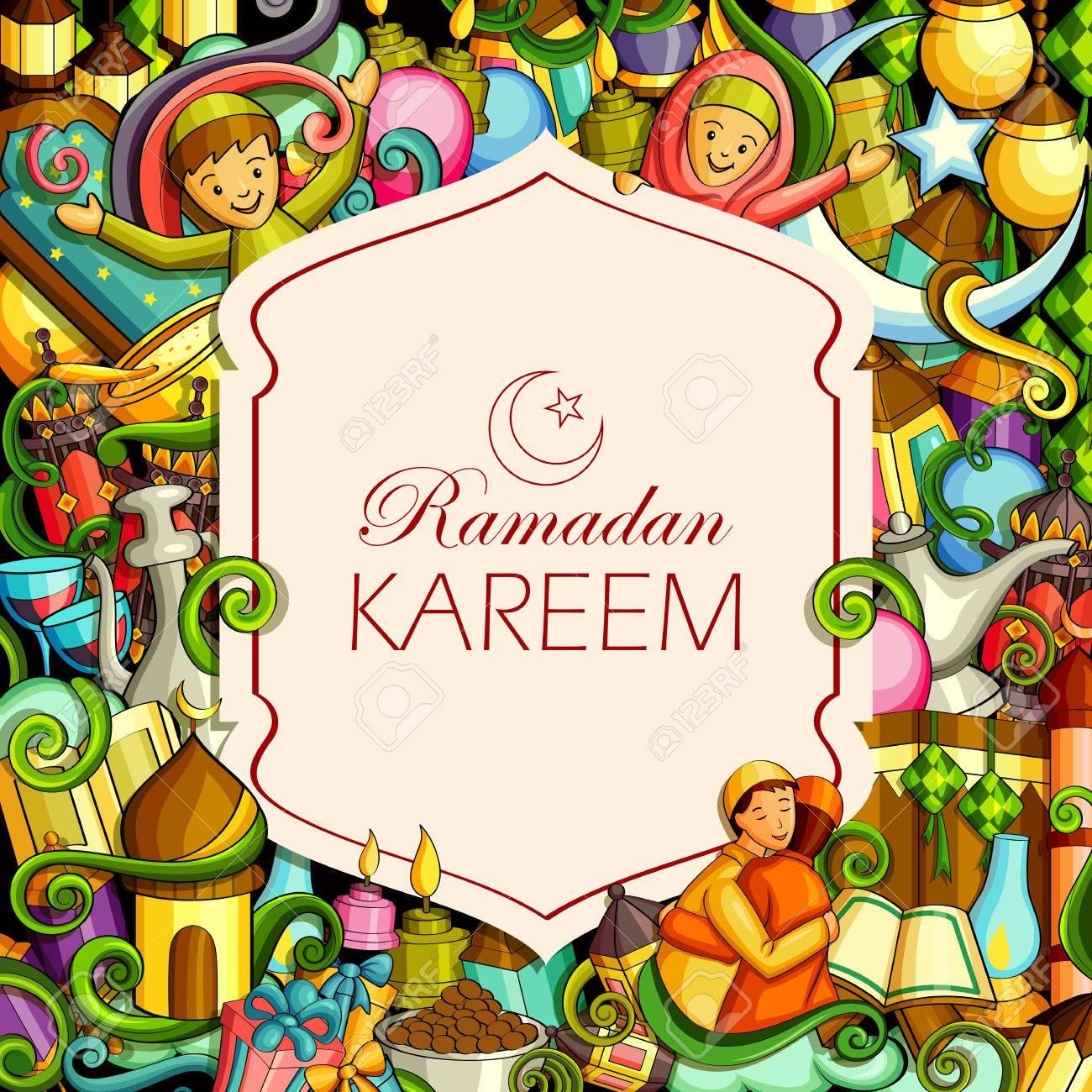 Eid Mubarak Blessing for Eid background. - 79409900