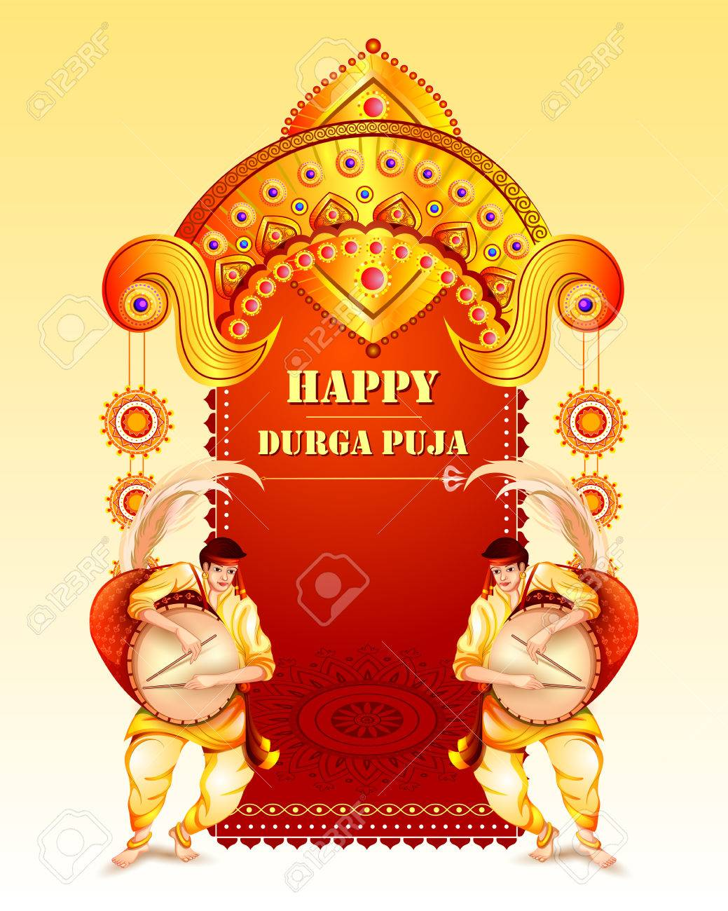 Happy durga puja festival background for india holiday dussehra happy durga puja festival background for india holiday dussehra stock vector 85642220 kristyandbryce Image collections