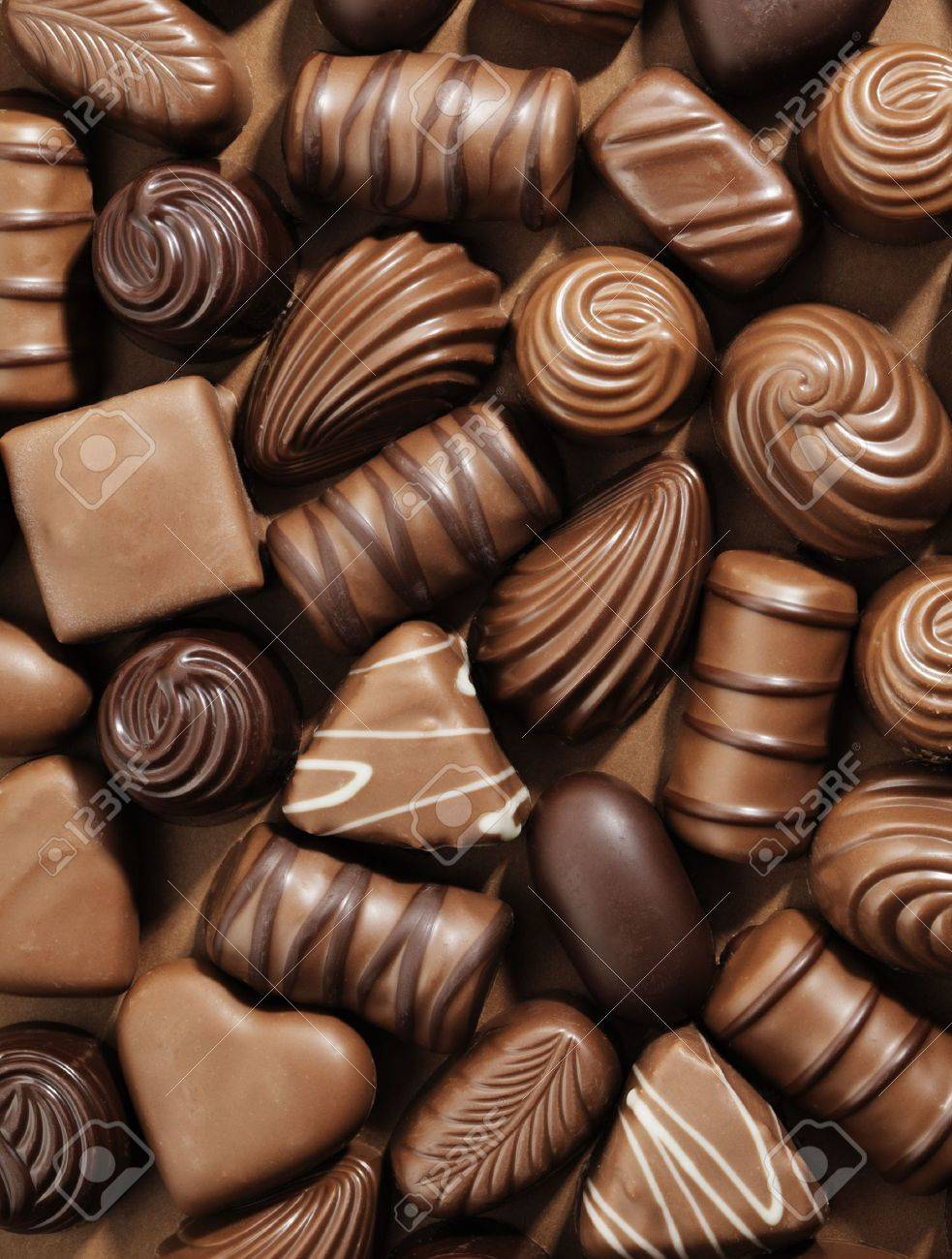 Chocolate Variety Stock Photos & Pictures. Royalty Free Chocolate ...