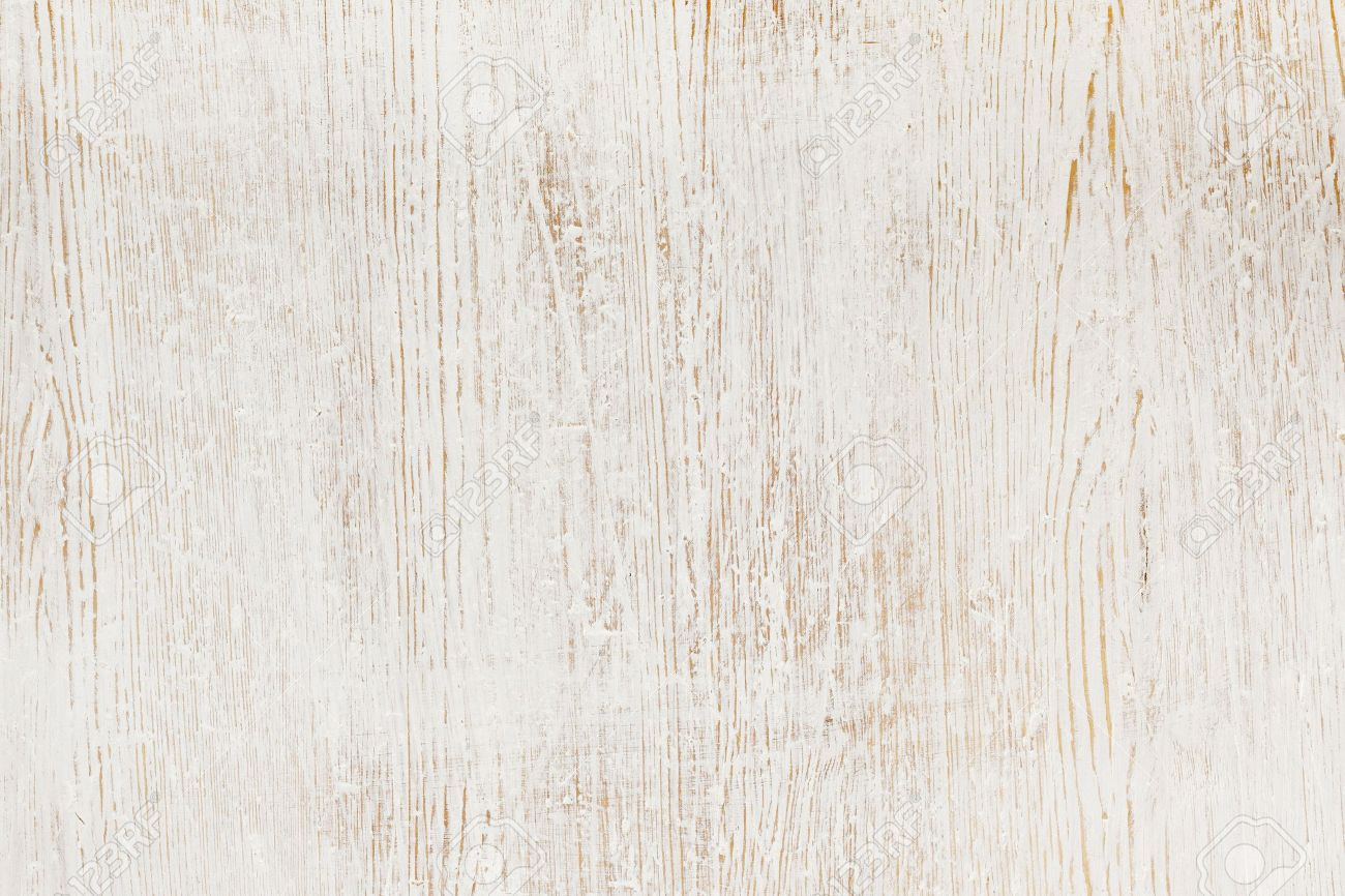 Bon Stock Photo   Worn White Paint On Wood Background Texture