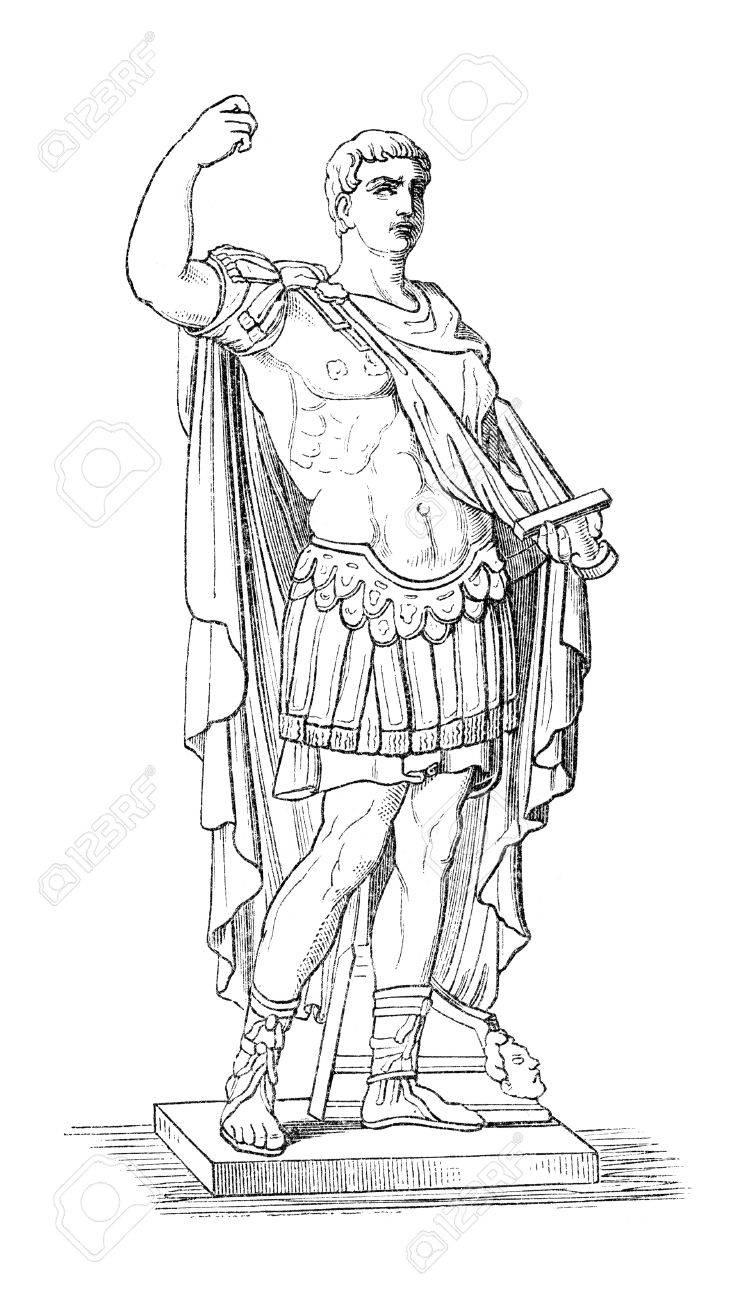 augustus aka octavianus aka gaius julius caesar augustus the