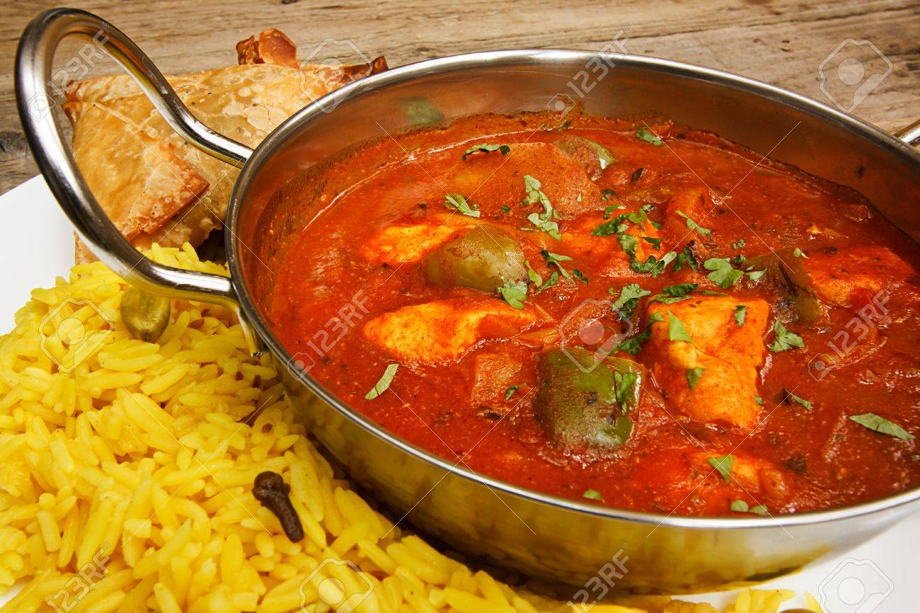 Chicken jalfrezi a popular indian curry available at eastern stock chicken jalfrezi a popular indian curry available at eastern restaurants stock photo 21981541 forumfinder Choice Image
