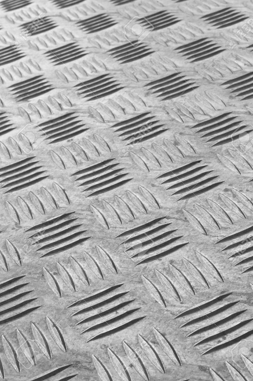 Industriel antidérapant détail de revêtements de sol en métal