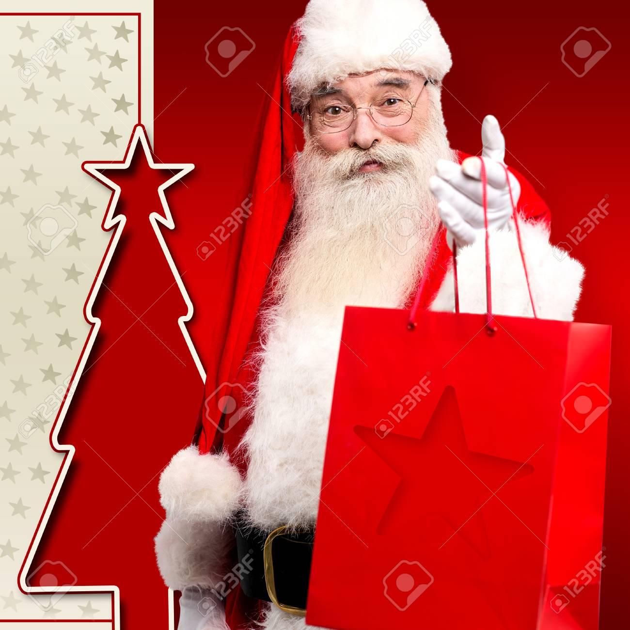 Weihnachten Heiligen Die Geschenke Und Unter Begrüßung Der Vorabend ...
