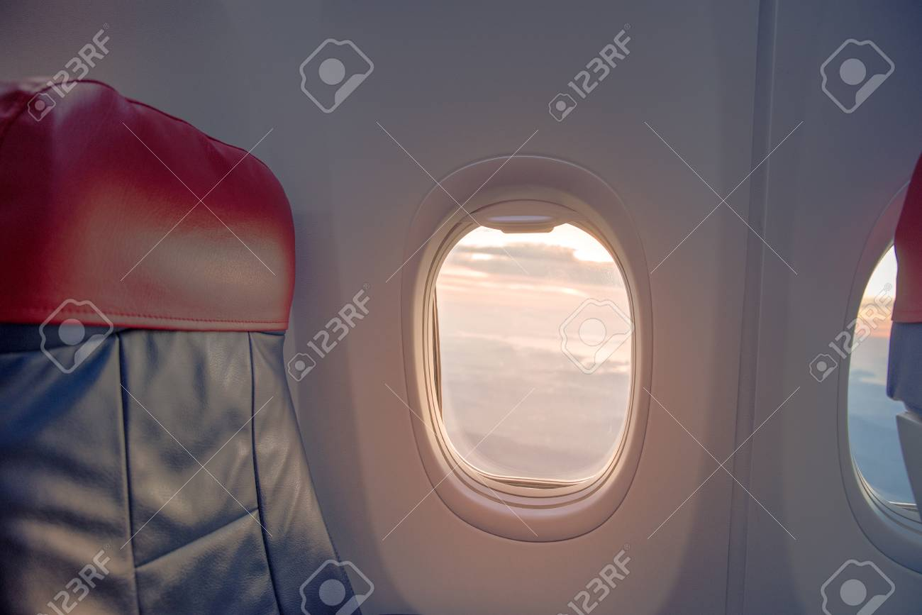 Super Beautiful Scene Of Aeroplane Window Seat Travel Concept Cjindustries Chair Design For Home Cjindustriesco