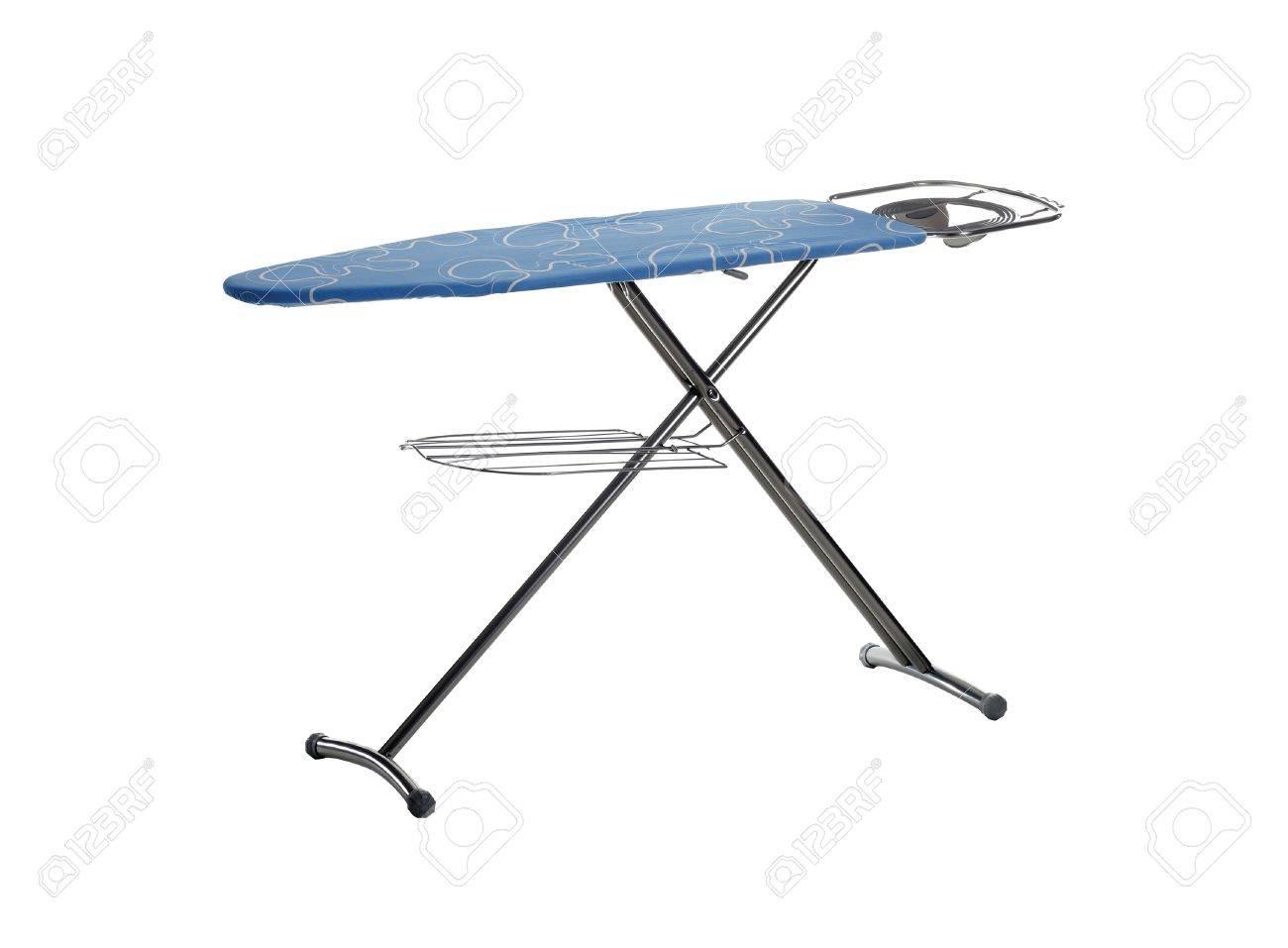 ironing board isolated on white background Stock Photo - 12274412