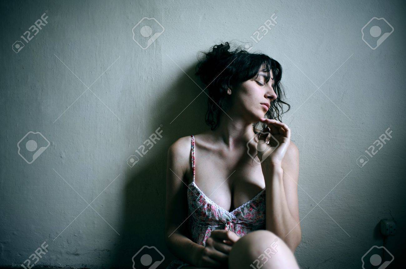 portrait of a sad female young adult. Stock Photo - 14190694