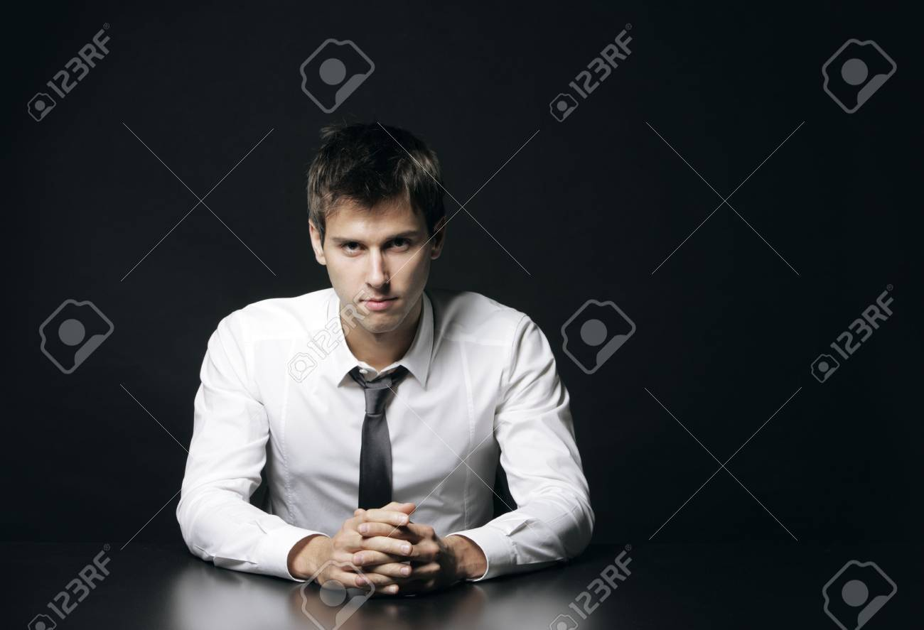 Portrait of a young businessman Stock Photo - 15783270