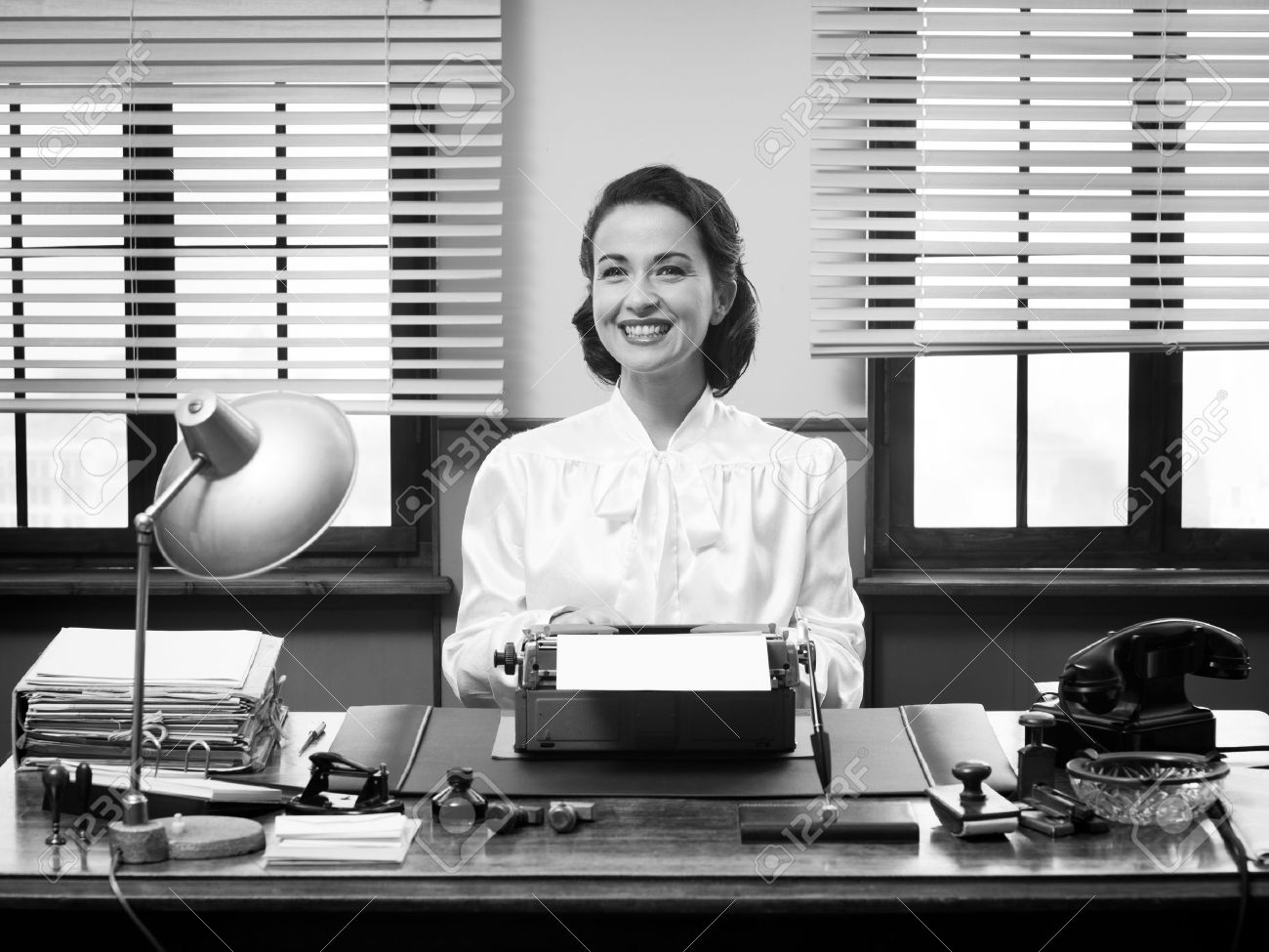 Secretary Stock Photos & Pictures. Royalty Free Secretary Images ...