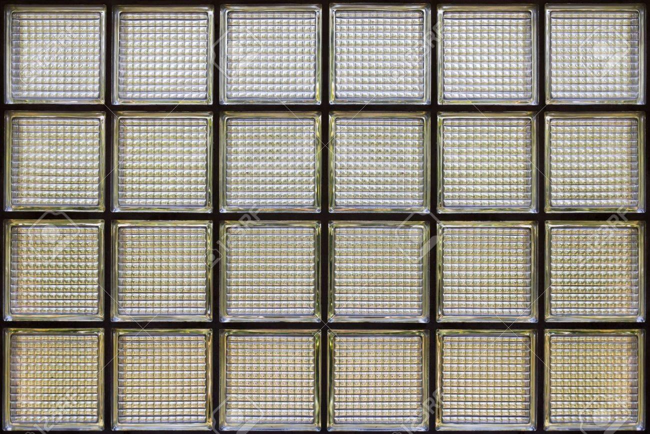 Glass wall texture detail Block Window Stock Photo - 11784158