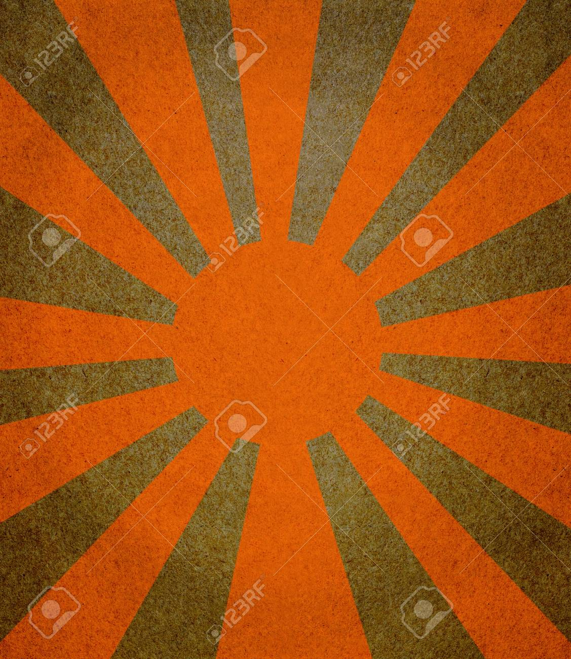 Vintage abstract sun rays on the grunge paper Stock Photo - 12811576