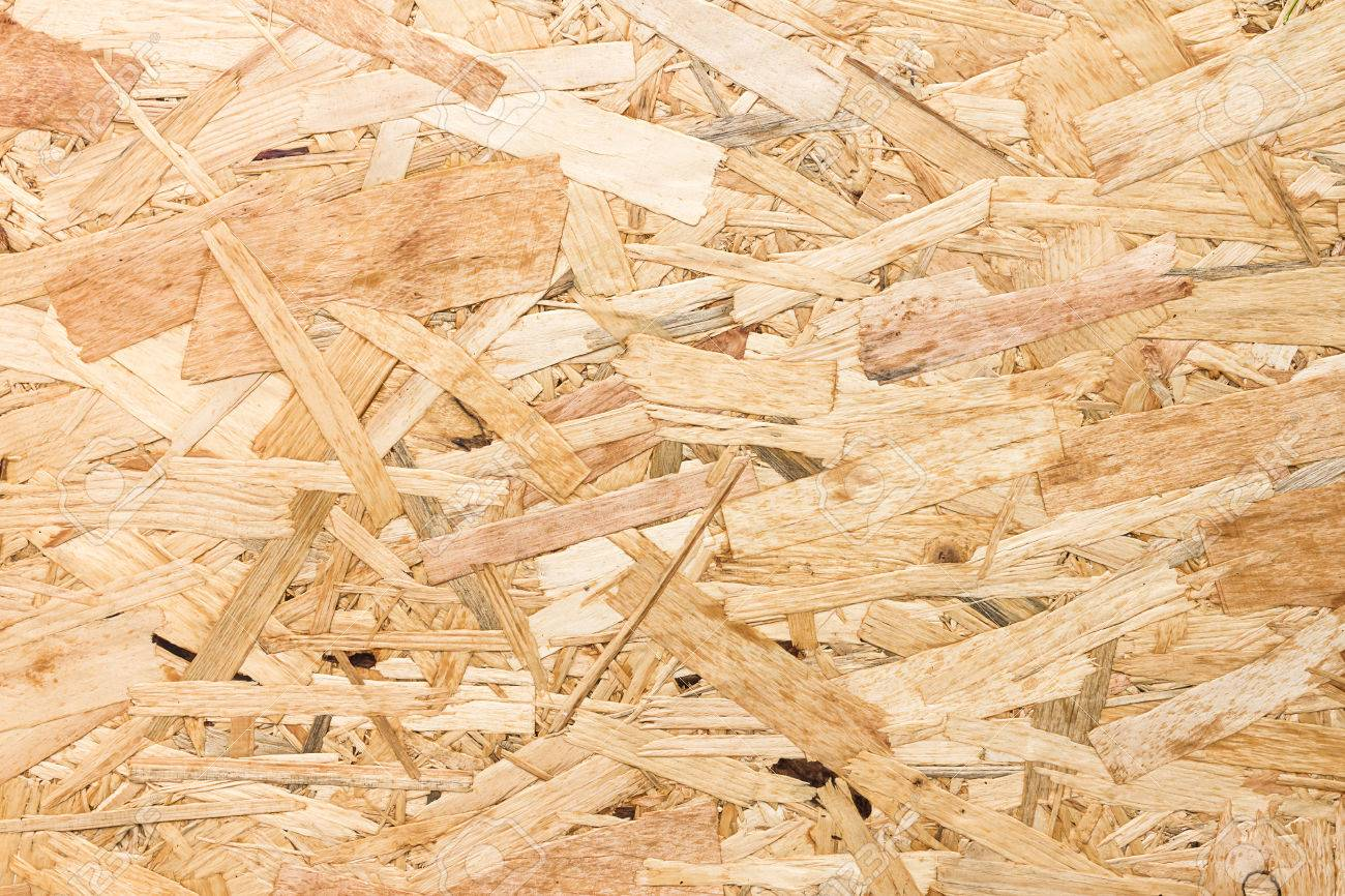 Close Up Texture Of Oriented Strand Board Osb Wood Board Made