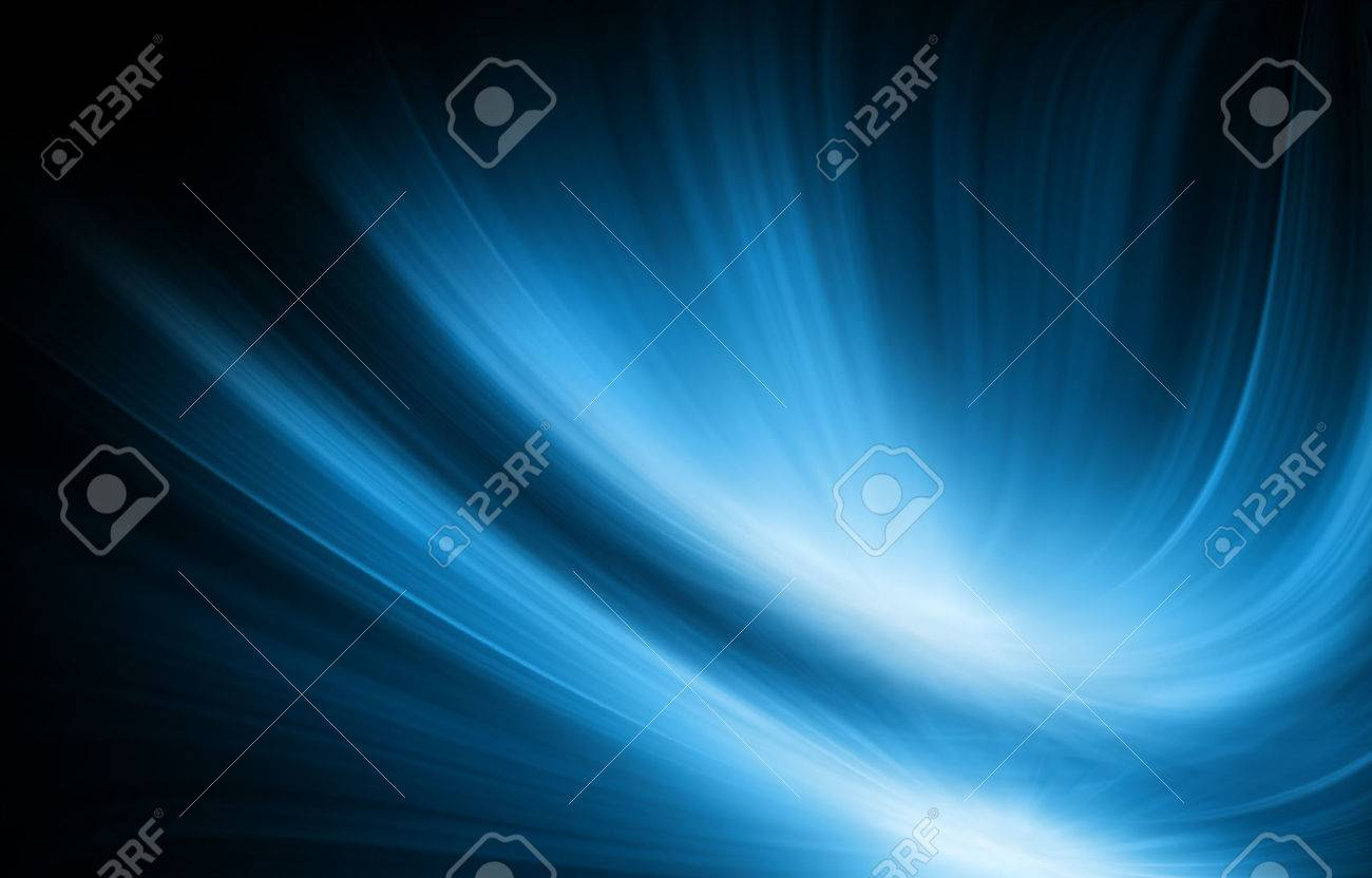 Abstract blue background, beautiful lines and blur - 51271730