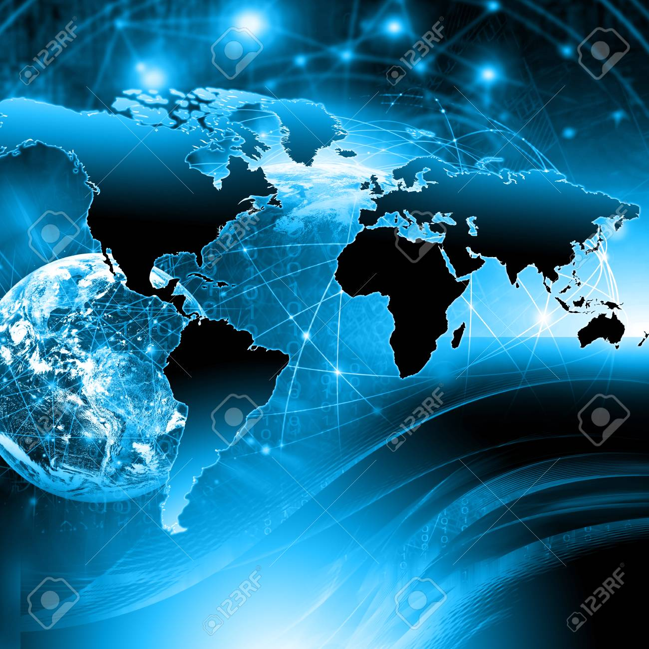 Physical World Map Illustration Stock Photo Picture And Royalty