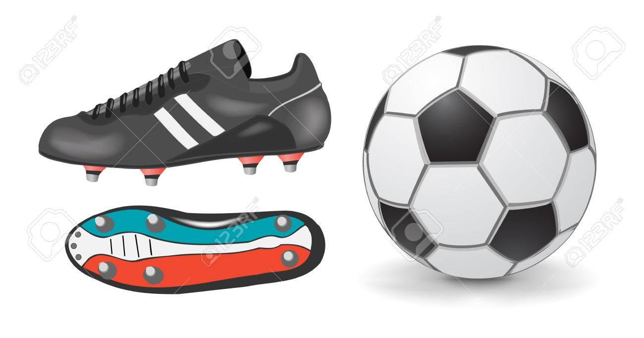 Accessoires football Banque dimages , 4600101
