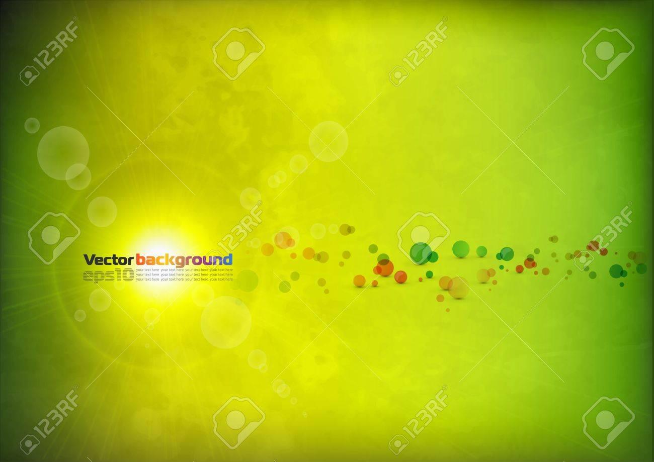 Summer background Stock Vector - 7455910