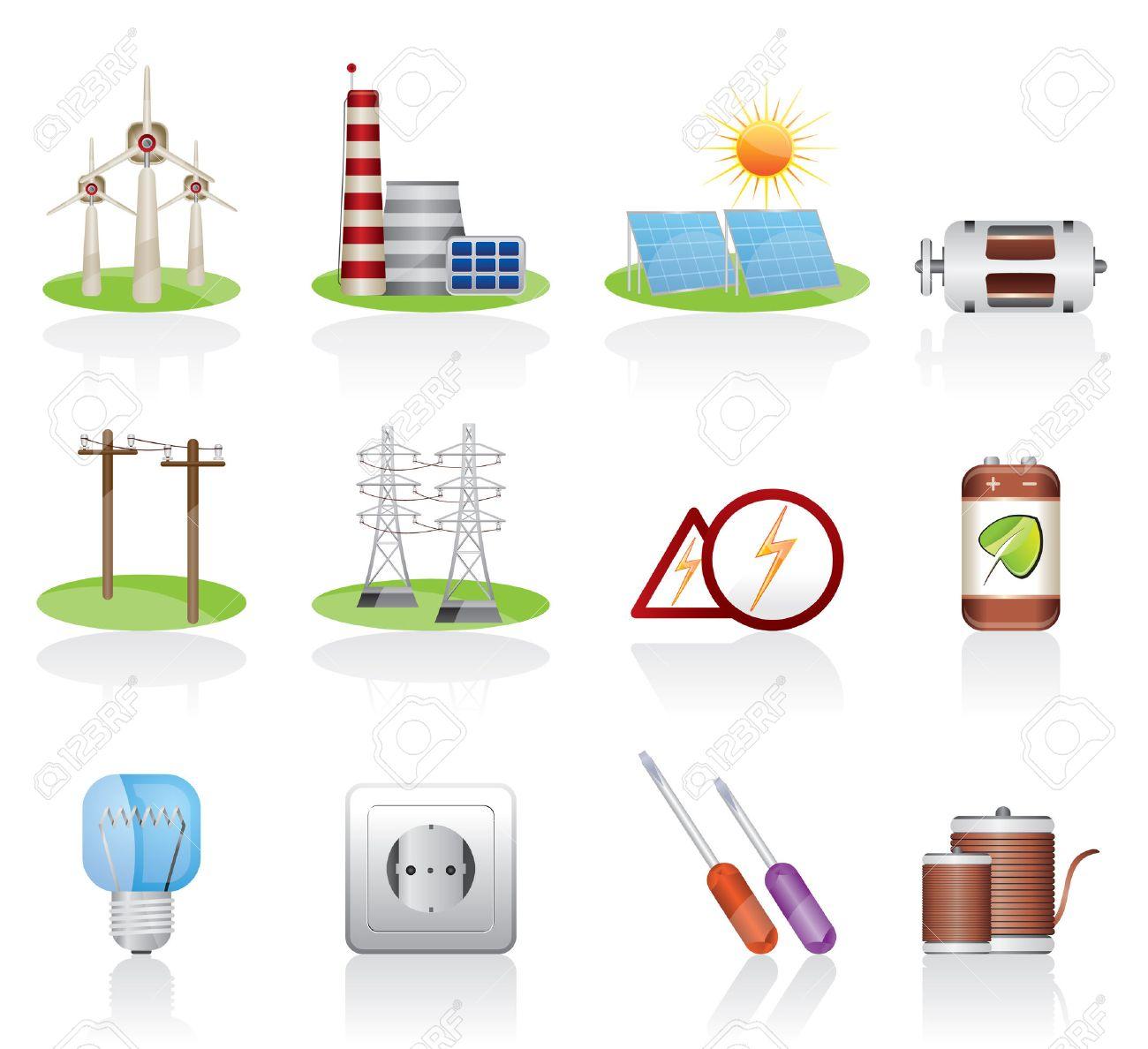 Electricity icon Stock Vector - 4397205