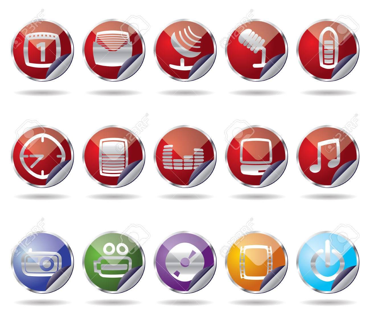 phone icon performance Stock Vector - 4397187