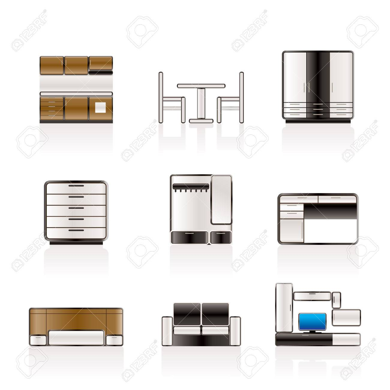 3 008 kitchen cabinet stock vector illustration and royalty free