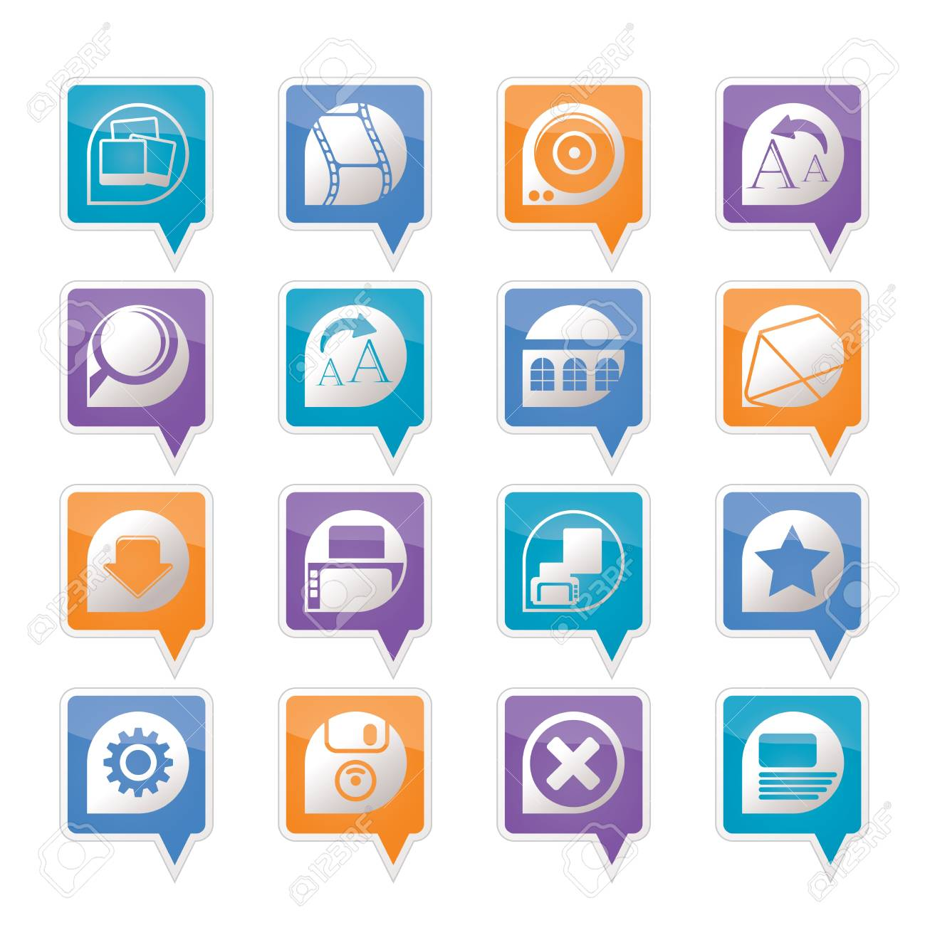 Internet and Website Icons - Vector Icon Set Stock Vector - 11780298