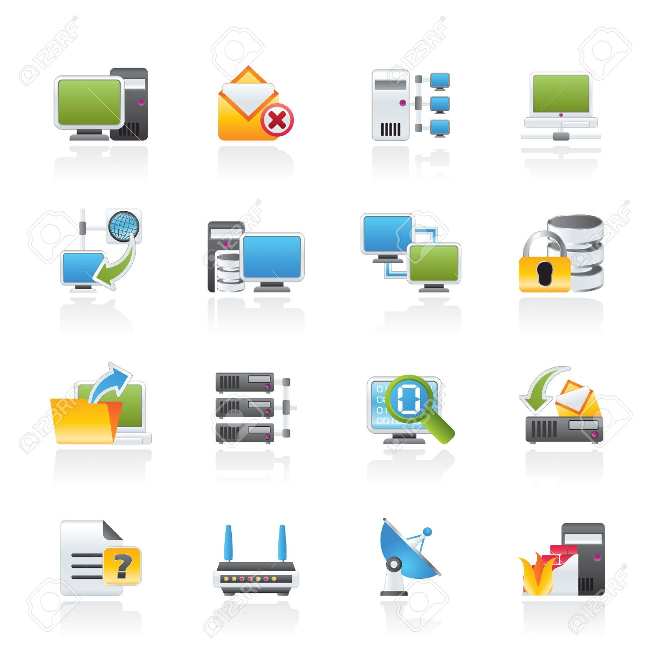 Computer Server Icon Server Storage Computer