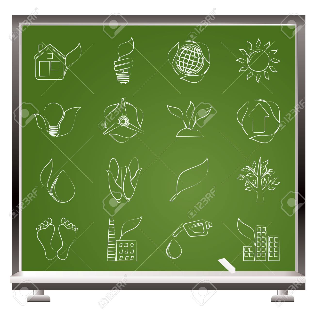 environment and nature icons Stock Vector - 14120943