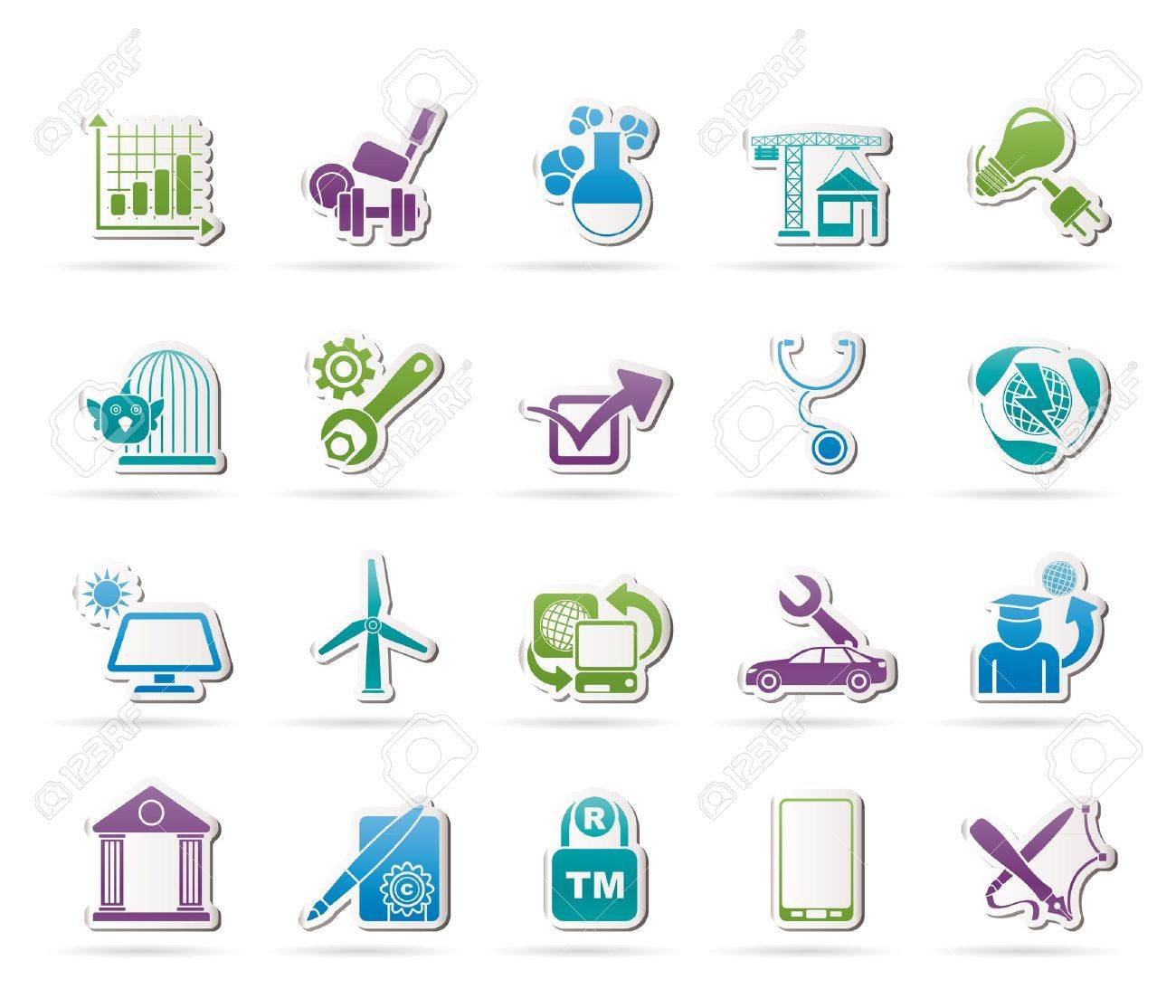 Internet and Website Portal icons - 16100002