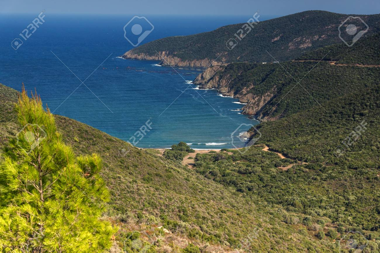 Ampelos Beach Sithonia seascape of mamba beach ampelos at sithonia peninsula, chalkidiki