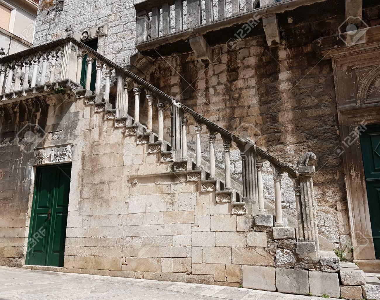 Ancient croatian castle - 87711026