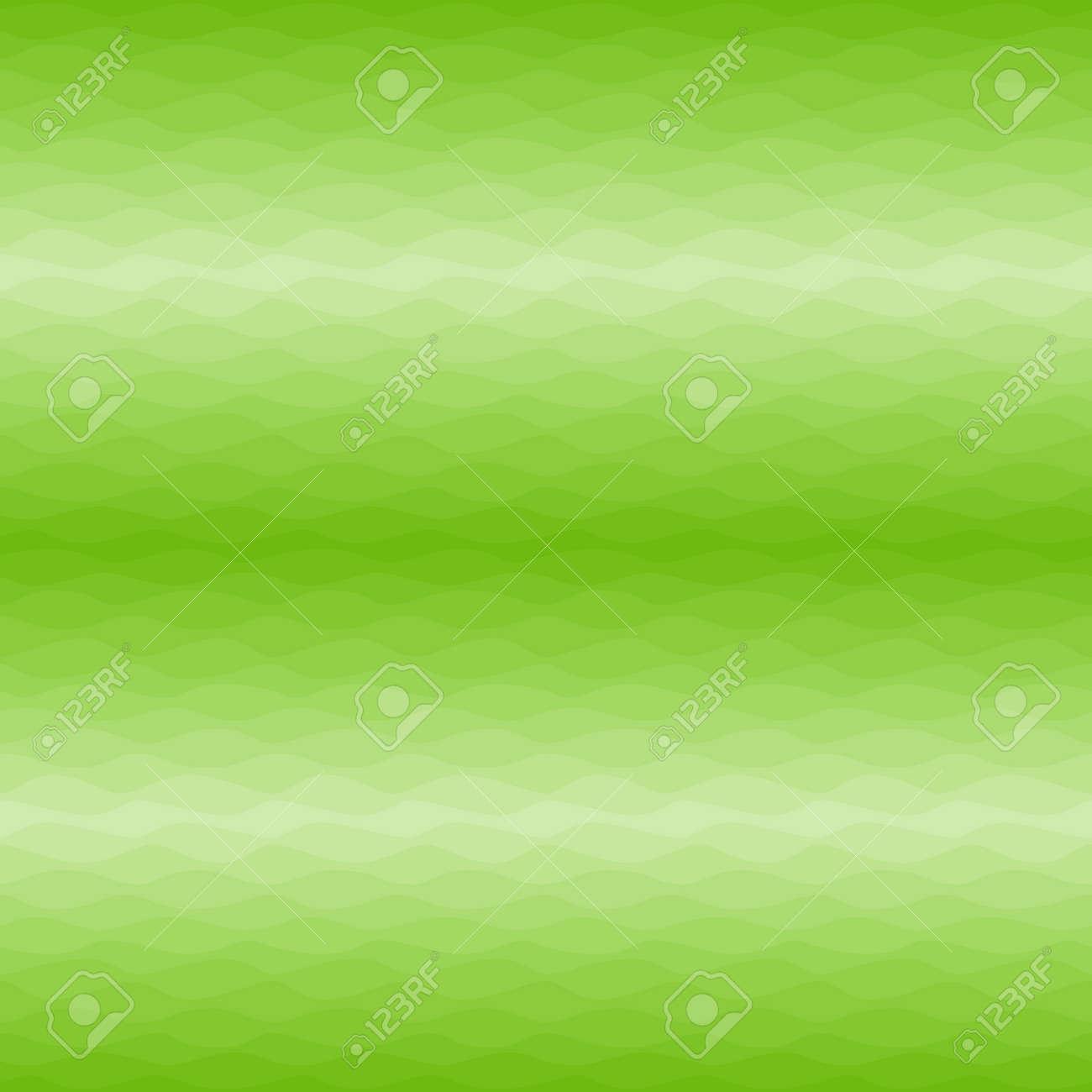 Gradual wavy yellow green background - 164334466