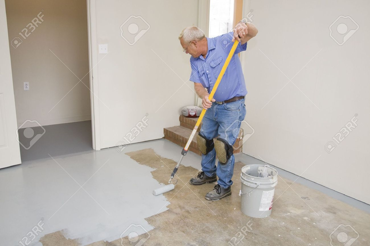 on how painting floor paint floors classic pinterest to home basement ideas best concrete elegant garage unique