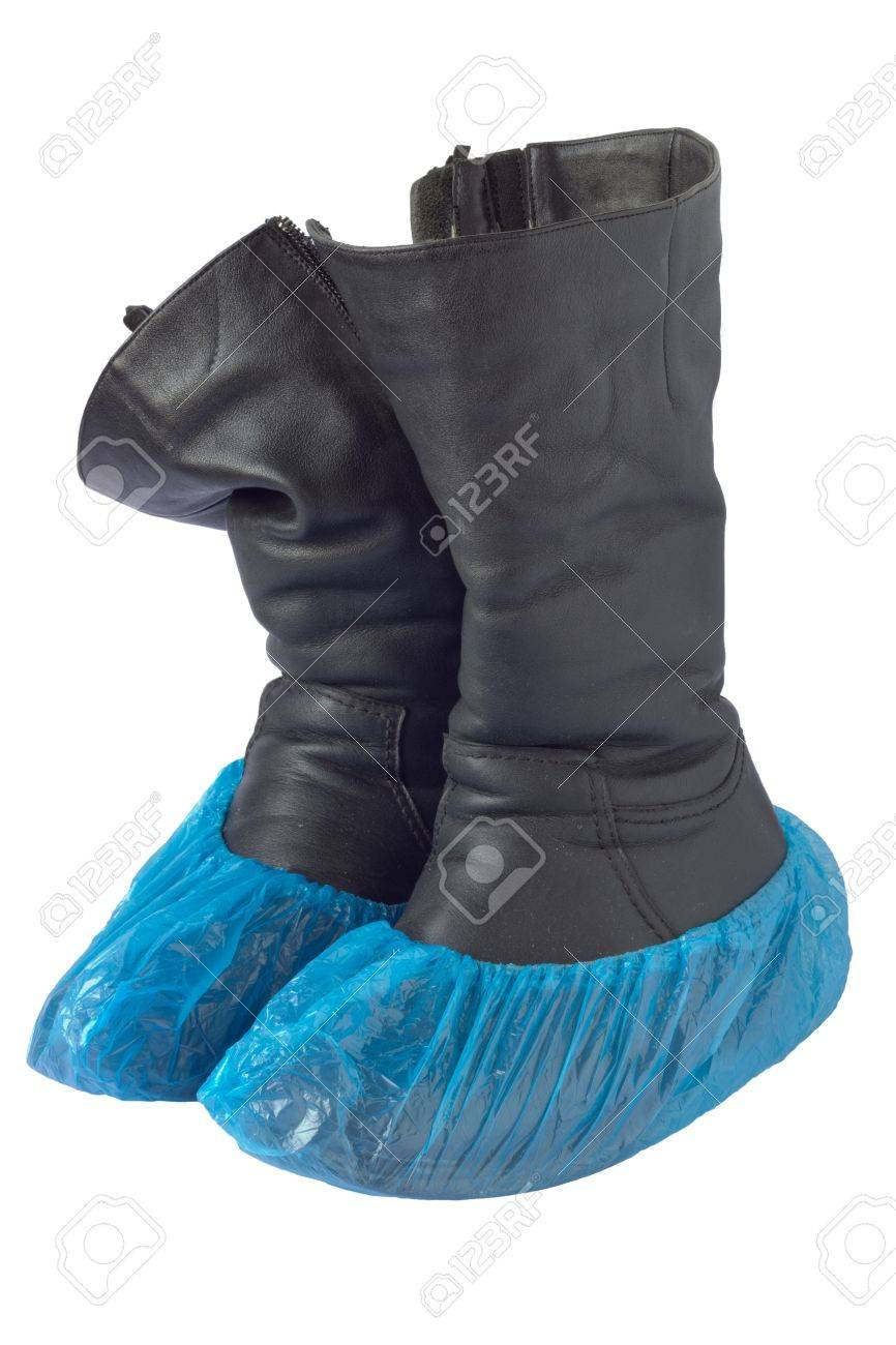 overshoe isolated Stock Photo - 18520490