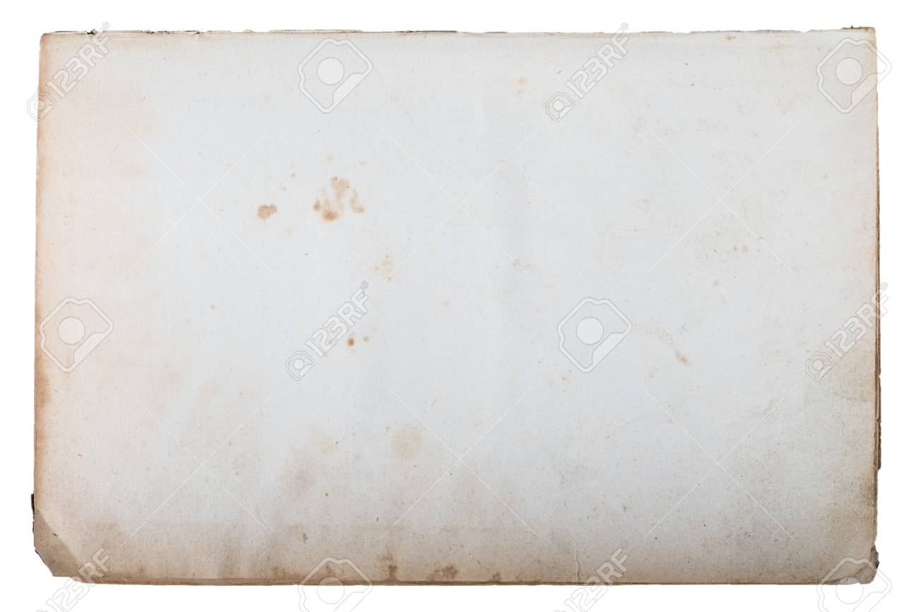 Page Of Old Book Isolated On A White Background Stock Photo Picture And Royalty Free Image Image 40193389
