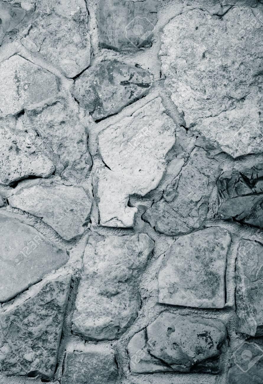 wand aus naturstein, wand aus naturstein mit dem jahr gebaut . getönt lizenzfreie fotos, Design ideen