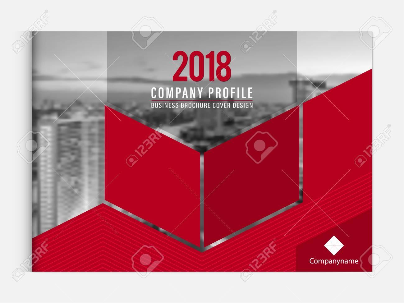business brochure cover design template corporate company profile
