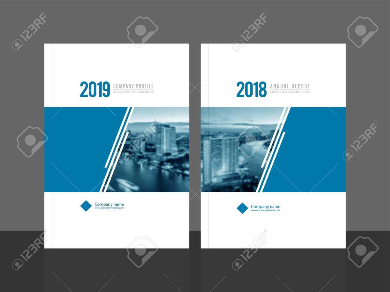 corporate cover design for annual report and company profile