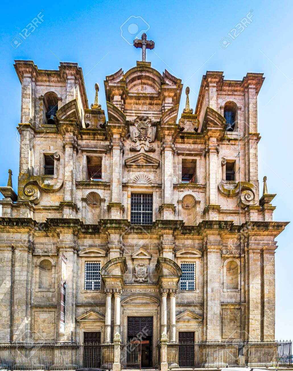 View on Facade Of Sao Lourenco Saint Lawrence Church and View Of The City Of Porto - 144070058