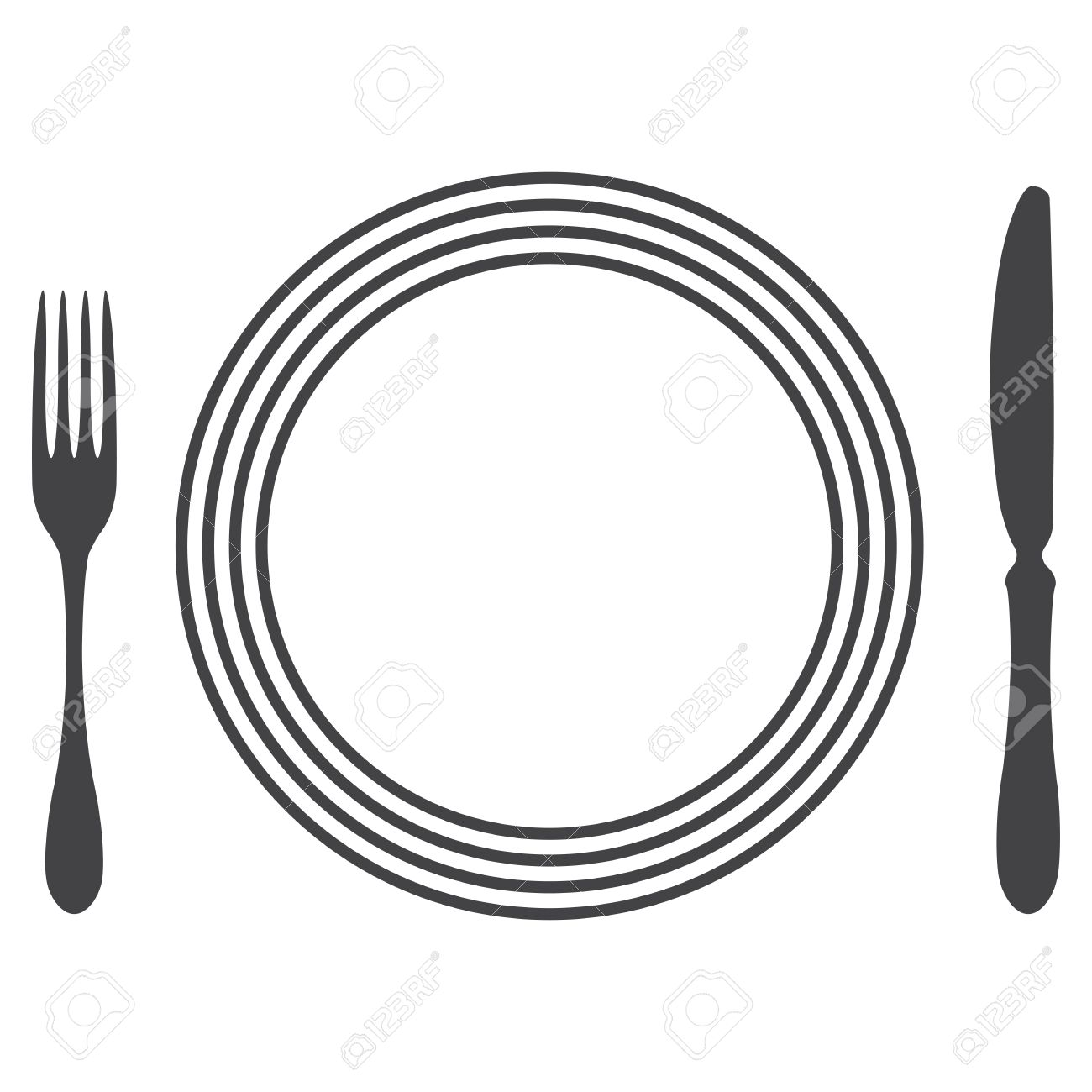 Etiquette Proper Table Setting Stock Vector - 17302517  sc 1 st  123RF.com & Etiquette Proper Table Setting Royalty Free Cliparts Vectors And ...