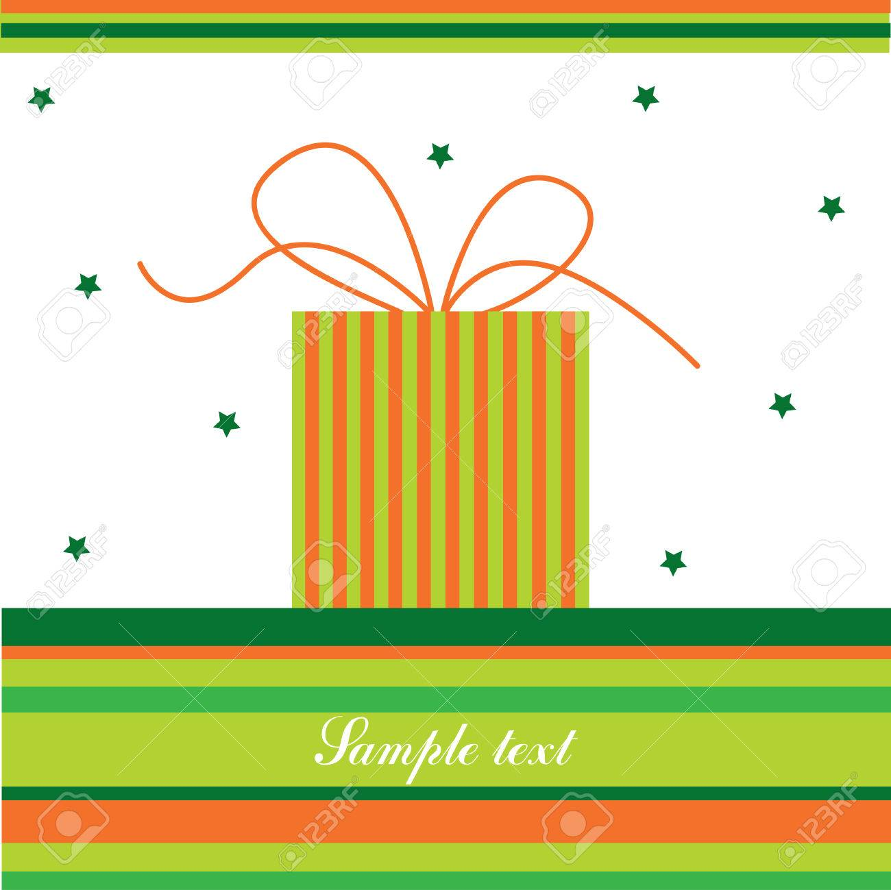 Colorful Card Stock Vector - 8120012