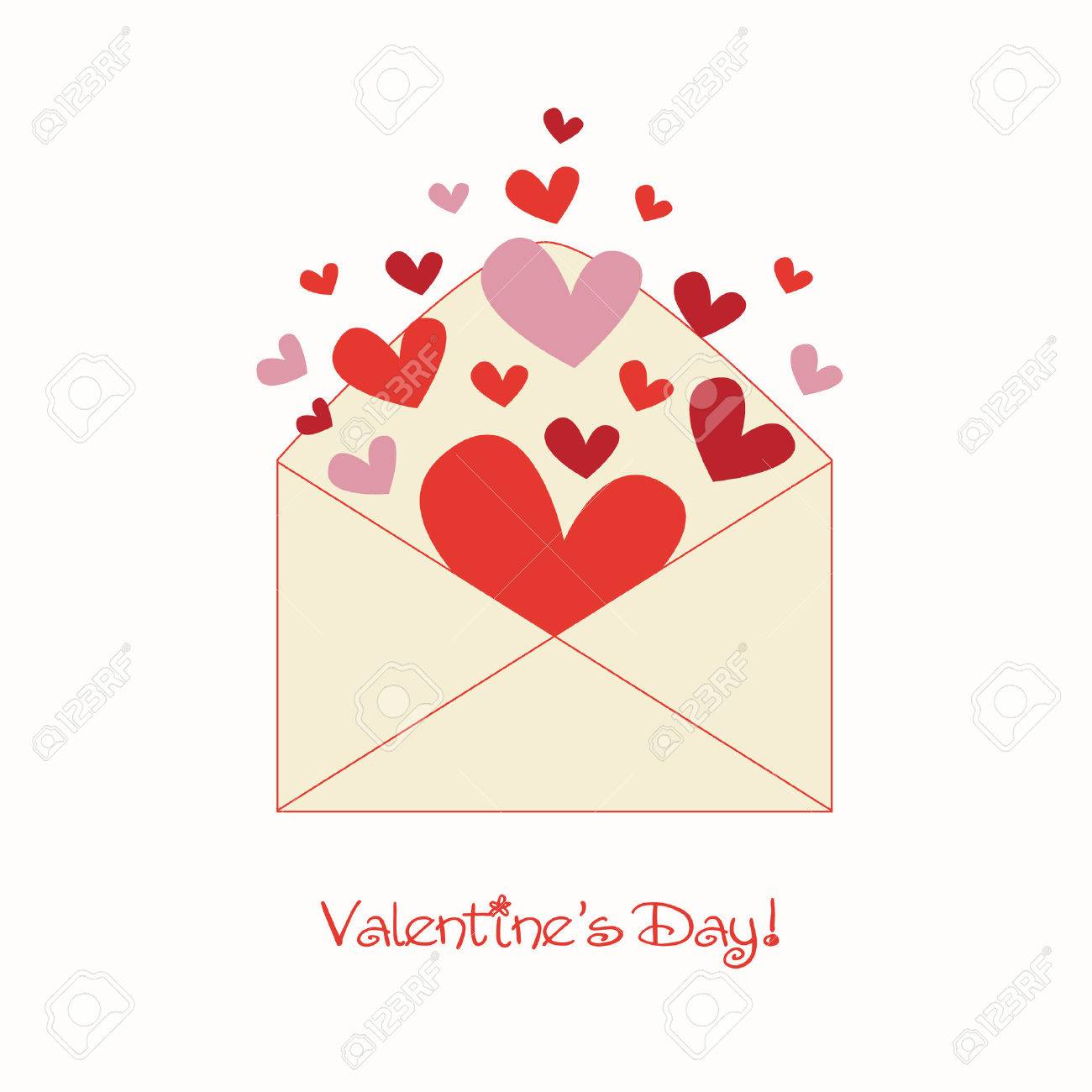 Sweet Valentine Letter Royalty Free Cliparts Vectors And Stock