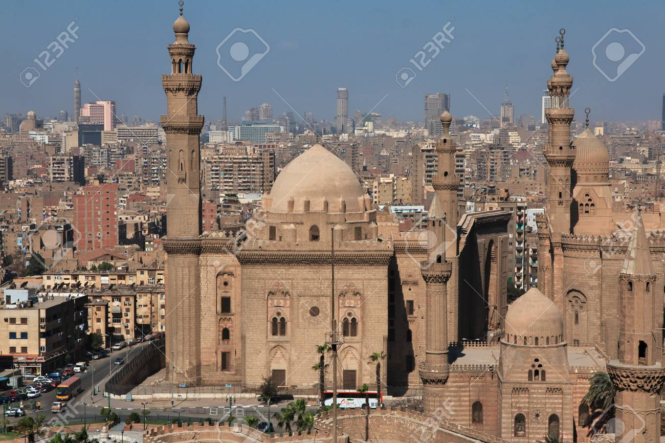 Mosque in Cairo, Egypt - 122730291