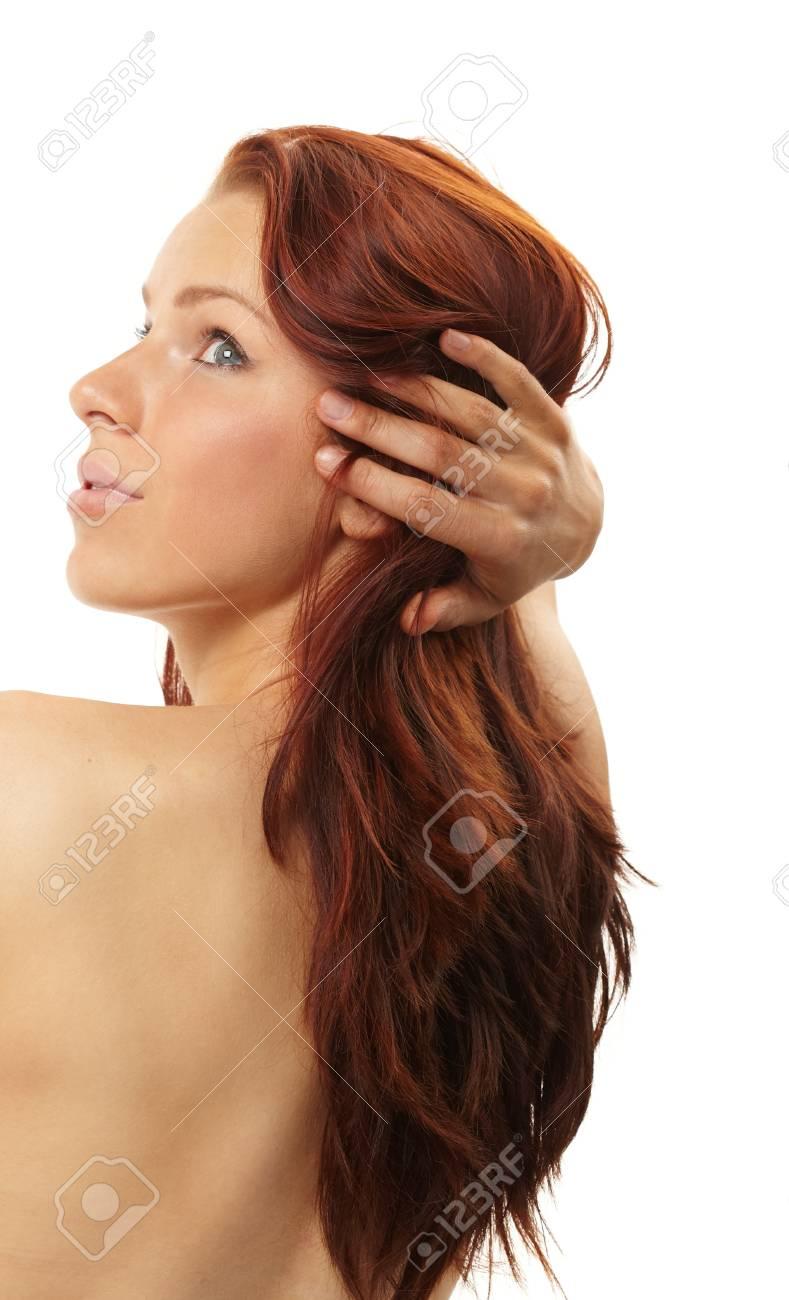 Beautiful woman in spa center Stock Photo - 9220686