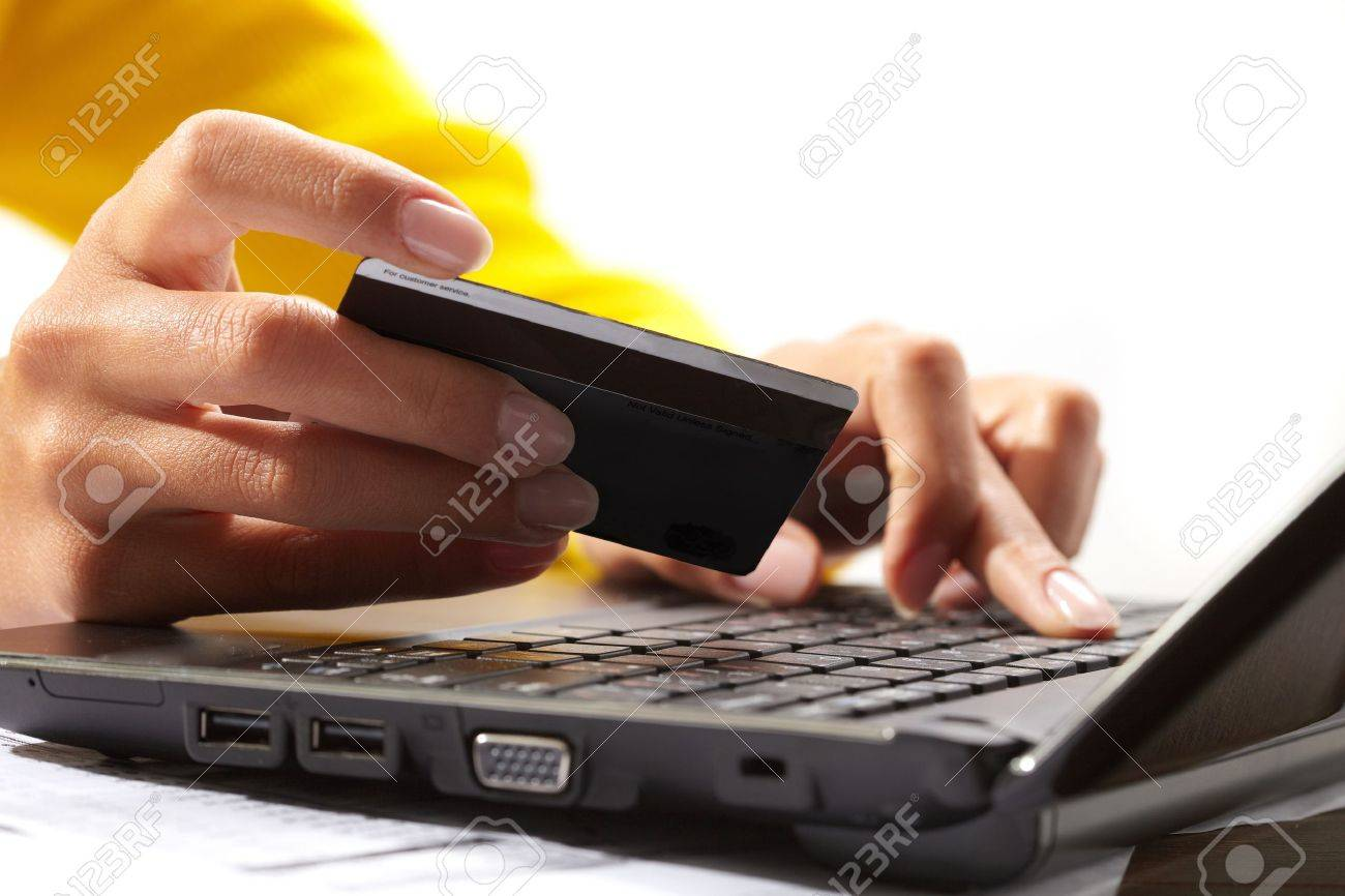 Online payment Stock Photo - 9763684