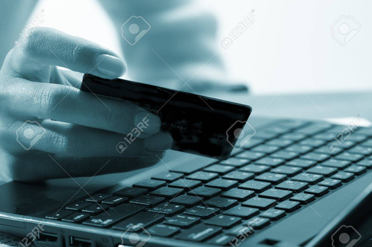 Online payment Stock Photo - 9763855