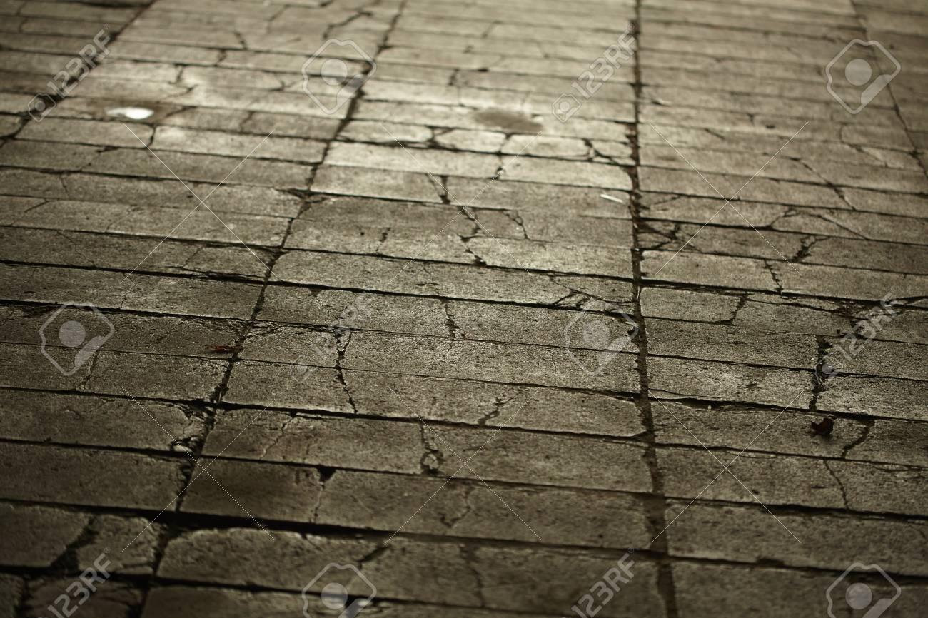 Texture di grigio piastrelle pavimentazione suolo città foto royalty